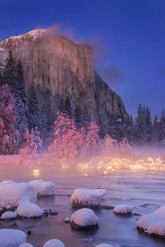 El Capitan, Yosemite National Park by Murali Achanta