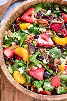 Strawberry Salad Lemon Tree Dwelling, Strawberry and Edamame Salad Spinach For Breakfast, strawberry and edamame s. Vegetarian Salad Recipes, Summer Salad Recipes, Salad Recipes For Dinner, Healthy Salad Recipes, Summer Salads, Dinner Salads, Fresh Salad Recipes, Spinach Salad Recipes, Spinach And Goat Cheese Salad