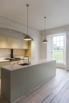 Restoration of country house and outbuildings in Tipperary, 2015 - Works included new roofing, extensive structural work, floor restoration, new. Floor Restoration, Heat Pump, 18th Century, Architects, Flooring, Country, Kitchen, House, Home Decor