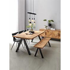 Heritage Spisebord 200 x 100 x 75 cm Interior Minimalista, Dining Room, Dining Table, Best Desk, Office Desk, Room Decor, Rustic, House, Inspiration