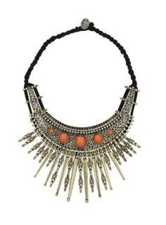Tribal Necklace by jenniedrs