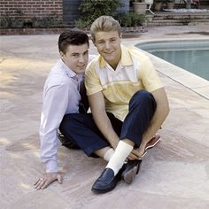 Ricky & David Nelson in The Adventures of Ozzie and Harriet (1952-66, ABC)