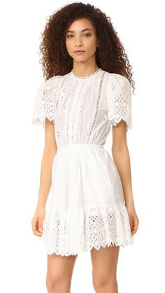 Sea Emma Pintuck Day Dress
