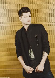 Daniel John Mark Luke O'Donoghue. one of my heroes as a musician and as a human being in general.