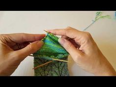 Shadow Wrapped Short Row Heel - Part 2 - YouTube