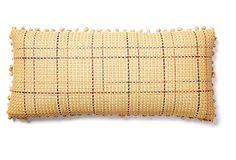 Plaid 12x26 Pillow, Natural on OneKingsLane.com
