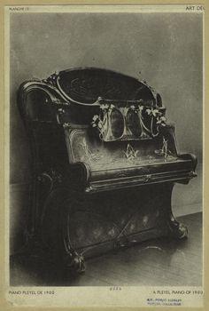 Pleyel Piano, 1900