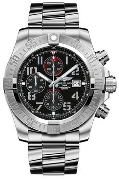 A1337111/BC28 NEW BREITLING SUPER AVENGER II MENS WATCH FOR SALEIN STOCK - FREE Overnight Shipping | Lowest Price…