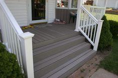 Composite Porch Flooring (Timber Tech) and Vinyl Railing