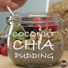 Start your day right with a Coconut-Chia Pudding Breakfast Bowl.