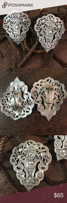 Awesome signed by Stephen Dweck Beautiful vintage sterling silver earrings stephen dweck Jewelry Earrings