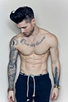 Guys with tattoos.tree tattoo is dope.he's not bad either Tattoos Arm Mann, Top Tattoos, Arm Tattoos For Guys, Mens Tattoos, Nice Tattoos, Beautiful Tattoos, Sleeve Tattoos For Men, Arm Tattoo Men, Classy Tattoos