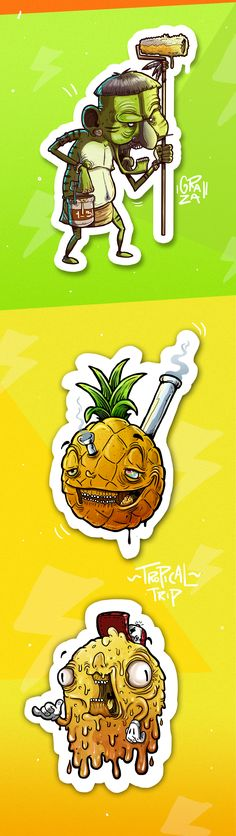 Guacala Collection // Pack of illustration on Behance