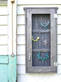 Ana White | Build a Wall Jewelry Cabinet | Free and Easy DIY Project and Furniture Plans