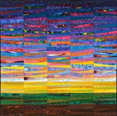 quilt  by Ann Brauer.   Really like this one.
