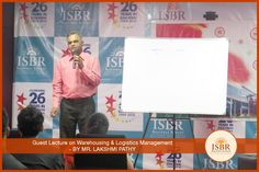 ISBR Business School firmly believes that in order to generate leaders of tomorrow, one must interact and think like one. In continuation of this legacy, we organized an Industry Guest Lecture on Warehousing and Logistics #Management by Mr. Lakshmi Pathy D N, Senior Manager – Operations, Sical Logistics Limited. He spoke at length about warehousing, its different types and the various pros and cons associated with this field.