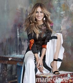 US Marie Claire September 2016 : Sarah Jessica Parker by Michelango di Battista Sarah Jessica Parker, Love Her Style, Looks Style, Estilo Carrie Bradshaw, Moda Chic, Rick Ross, City Style, Mode Style, Beauty