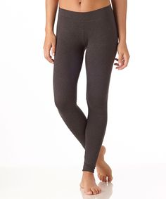 Women's Everyday Charcoal Leggings from PACT - Organic cotton/fair trade certified