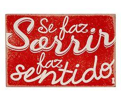Box Decorativo Sorrir - 15x10cm