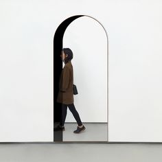 This is actually a mirror; Arch Floor Mirror by Bower