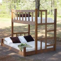 queen size bunk beds for kids