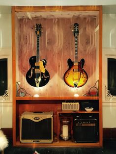 Trendy Home Studio Music Diy Guitar Display Ideas Woodworking Garage, Woodworking Joints, Woodworking Workshop, Woodworking Techniques, Woodworking Furniture, Fine Woodworking, Woodworking Projects, Woodworking Quotes, Reclaimed Furniture