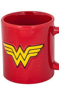 Embossed Wonder Woman Mug