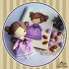 magic dolls: Ma Petite Lavender Poupee