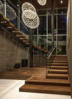 Modern Staircase Design Ideas - Stairs are so usual that you don't provide a second thought. Check out best 10 instances of modern staircase that are as sensational as they are . Home Stairs Design, Interior Stairs, Best Interior, Home Interior Design, Escalier Design, Grand Staircase, Staircase Walls, Staircases, Staircase Remodel