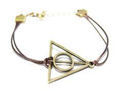 Harry Potter Dreick Armband bronze