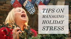 Wonder why the holidays often fills you with impending doom and stress, here's a few reasons why and how you can overcome them to enjoy the holiday season. Holiday Stress, Enjoy It, Anxiety, Crochet Hats, Seasons, Holidays, Health, Knitting Hats, Salud