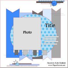 Sept 15th Sketch - Scrapbook.com