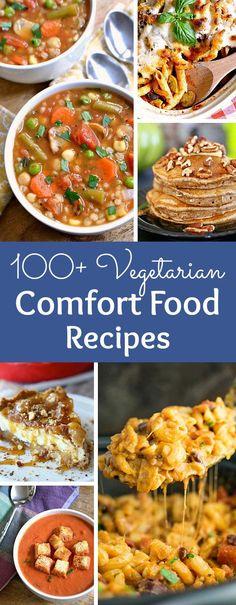 100+ Vegetarian Comf