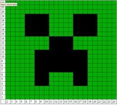 Serendepity, Minecraft Creeper Crochet Pattern