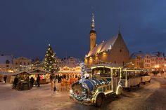 Tallinnan Raatihuoneentorin joulumarkkinat 18.11.2016 – 8.1.2017 ovat joulun ystävän ehdoton vierailupaikka. Viron upeimman joulukuusen ympärille rakentuu vuosittain tunnelmallinen joulumaa, jossa myydään taidetta, käsitöitä, erilaisia jouluherkkuja ja tullaan viihtymään ystävien seurassa. Hehkuviini lämmittää ja mm. virolainen ruoka pitää kylläisenä. Lapsia paikalla viihdyttää joulupukki porojensa kera.
