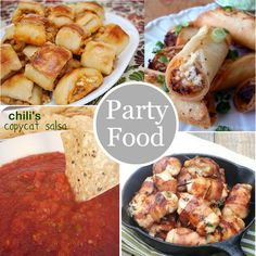 Party Food Recipes | The Mother Huddle