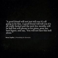 The inspirational Beau Taplin #quote