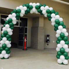 Arrow Balloon Arch
