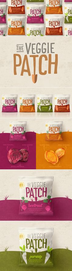 The Veggie Patch — The Dieline | Packaging & Branding Design & Innovation News