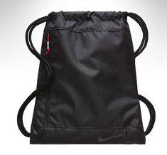 9b4cd6ba8744b8 Nike Golf Sports Gym Sack Gray Soccer Fitness Running Shoes Bag Black  BA5746-010
