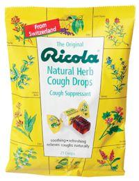 Natural Herb Cough Drops by Ricola - Buy Natural Herb Cough Drops (4.8 MG) 21 Lozenges at the Vitamin Shoppe    GOOD OL' RICOLA!  #vitaminshoppecontest