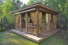10 options de pavillons dans tous les styles pour votre jardin ! (de Emma Jacob)