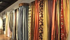 Elvira's Draperies, If you are Looking Curtain Store for Custom Drapery and Wood Blinds then come and get Installation Service at Kitchener How To Make Curtains, Curtains For Sale, Drapes Curtains, Drapery, Curtain Store, Curtain Fabric, Bedroom Sitting Room, Vintage Curtains, Wood Blinds