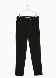 Pantalón cinturón aros