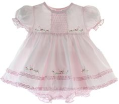 Hiccups Childrens Boutique - Baby Girls Pink Dress