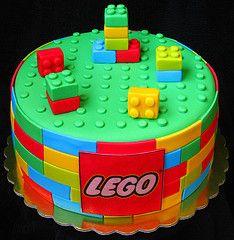 Lego cake by Mina Bakalova