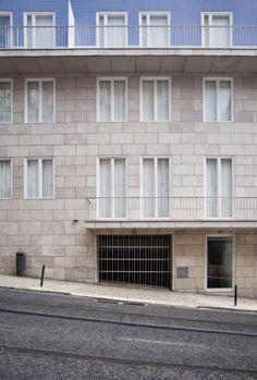 'Terraços de Bragança' housing complex, Lisbon/ Álvaro Siza