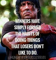 WINNERS DO THE THINGS THAT LOSER WON'T DO. INSPIRED BY @entrepreneur_motivator #motivational #inspirational #hungryforsuccess Checkout More: http://ift.tt/2fNnCJo