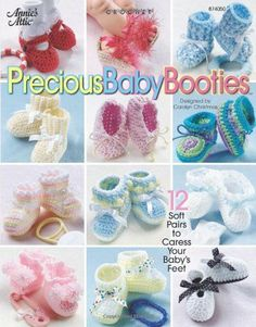 Check out this fantastic collection filled with baby booties patterns.