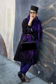 ADVANCED STYLE: Tziporah Salamon, Los Feliz